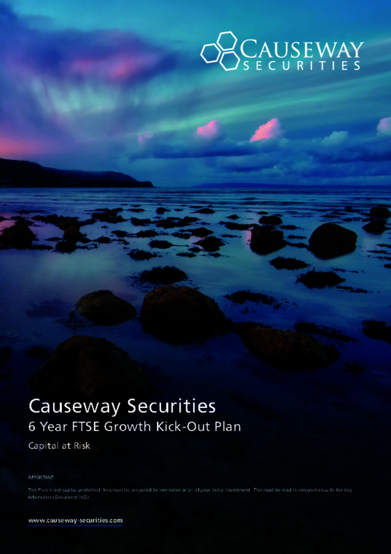 Causeway Securities 6 Year FTSE Growth Kick-Out Plan November 2020