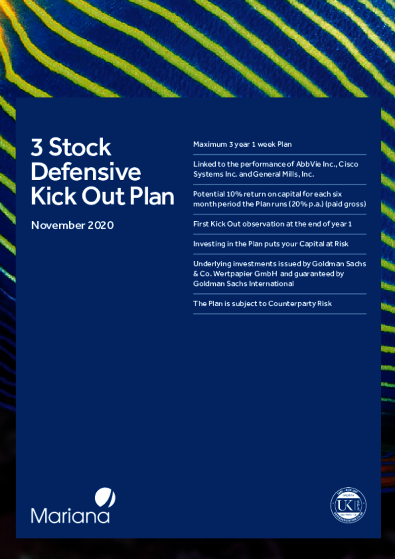 Mariana 3 Stock Defensive Kick-Out Plan - November 2020