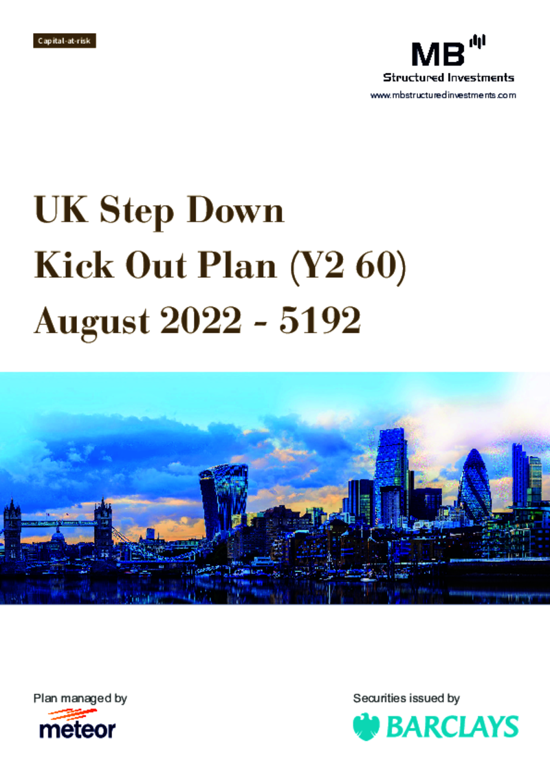 MB Structured Investments UK Step Down Kick Out Plan (Y2 60) April 2021
