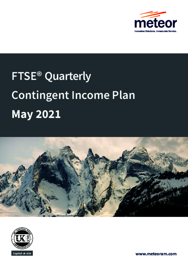 Meteor FTSE Quarterly Contingent Income Plan November 2020 (Option 2)